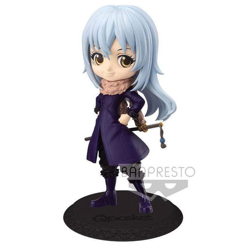 Infogeek ANIME / MANGA|TENSURA That Time I Got Reincarnated as a Slime Rimuru Tempest Q Posket B figure 14cm