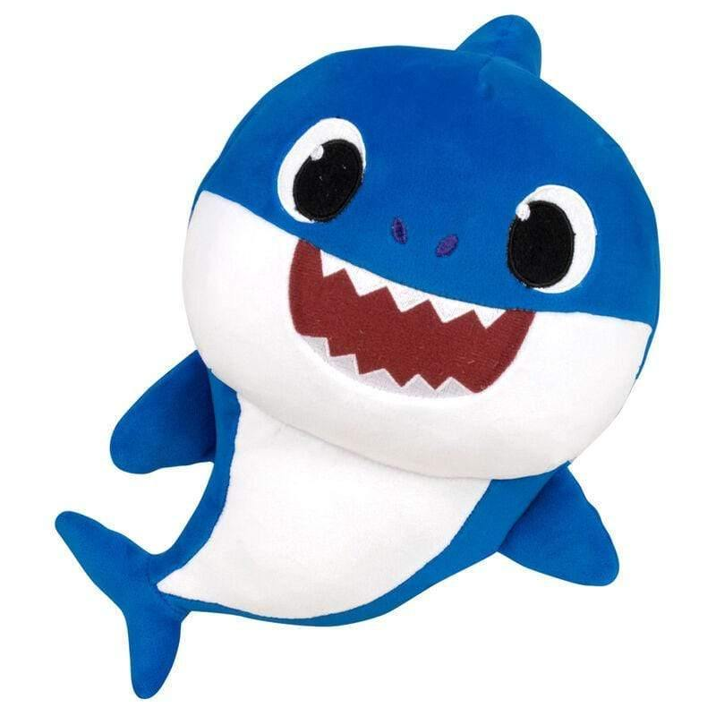 Infogeek BRANDS|BABY SHARK Baby Shark Daddy Shark soft plush toy with sound 26cm