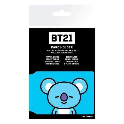 Infogeek BRANDS|BT21 BT21 Koya card holder