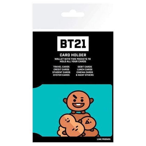 Infogeek BRANDS|BT21 BT21 Shooky card holder