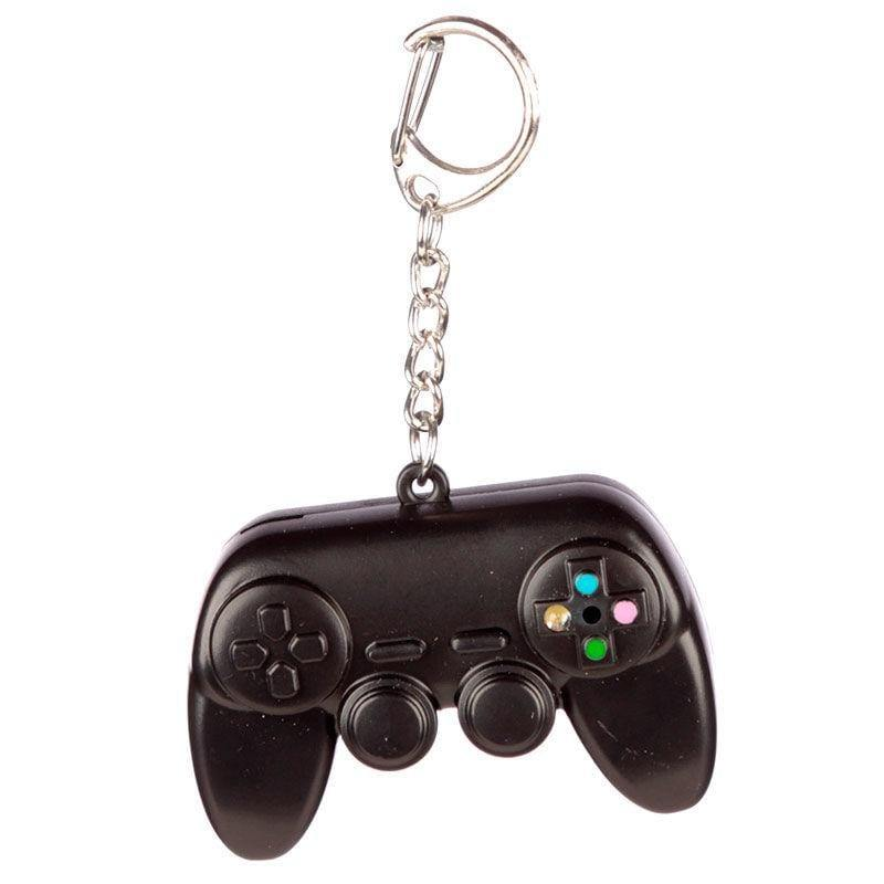Infogeek BRANDS|GAME OVER Game Over keychain with lights and sound