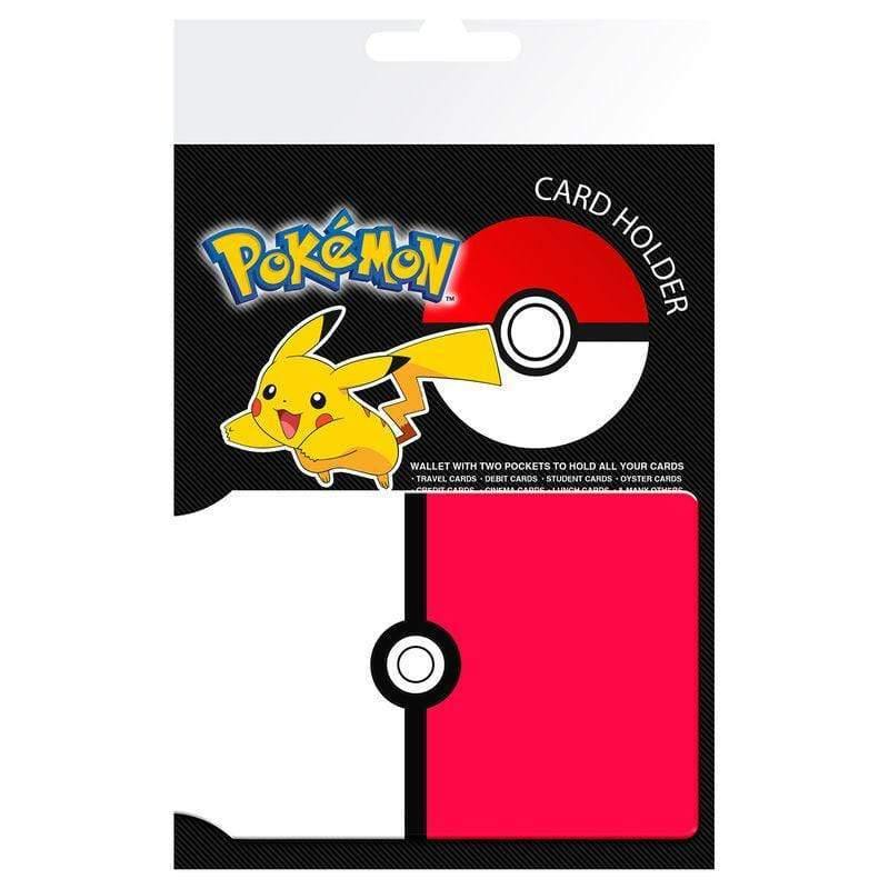 Pokemon Pokeball card holder - InfoGeek