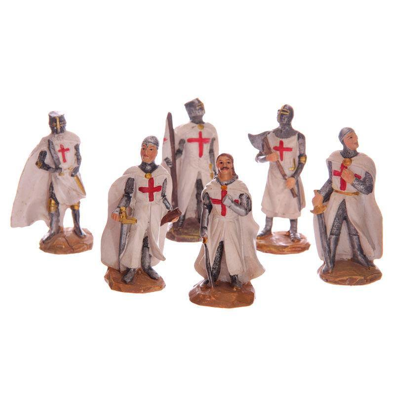 Infogeek BRANDS|GOTHIC / FANTASTIC Battle Ready Crusader Knight assorted figure