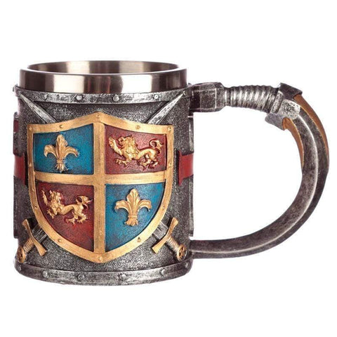 Infogeek BRANDS|GOTHIC / FANTASTIC Coat of Arms and Sword tankard