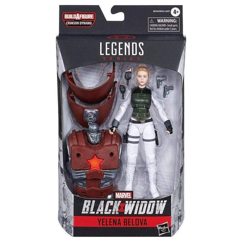 Infogeek COMIC / SUPERHERO|BLACK WIDOW Marvel Black Widow Yelena Belova Legends figure 15cm