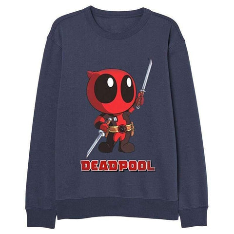 Marvel Deadpool adult sweatshirt - InfoGeek