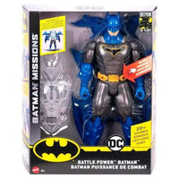 DC Comics Batman Battle Power Night Missions figure 30cm - InfoGeek