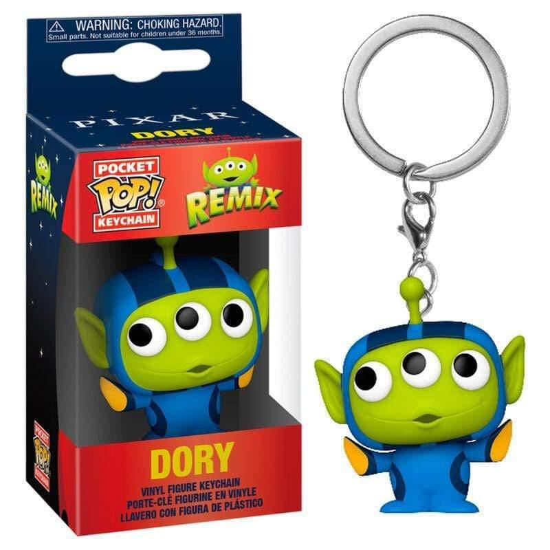 Infogeek DISNEY|ALIEN REMIX Pocket POP keychain Disney Pixar Alien Remix Dory