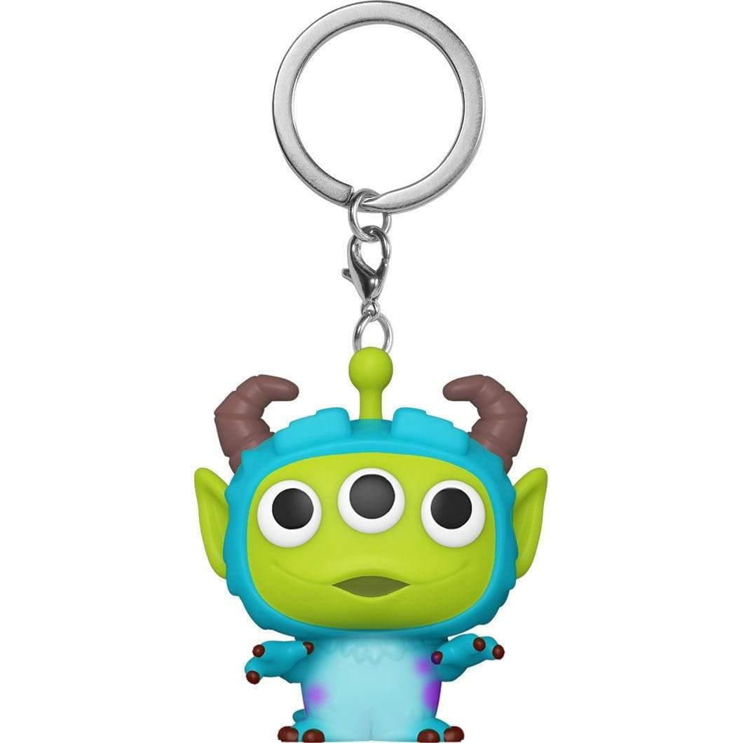 Infogeek DISNEY|ALIEN REMIX Pocket POP keychain Disney Pixar Alien Remix Sulley