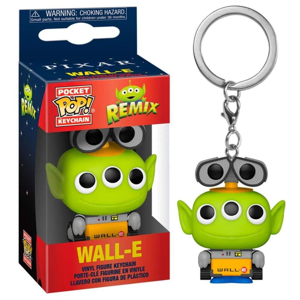 Infogeek DISNEY|ALIEN REMIX Pocket POP keychain Disney Pixar Alien Remix Wall-E