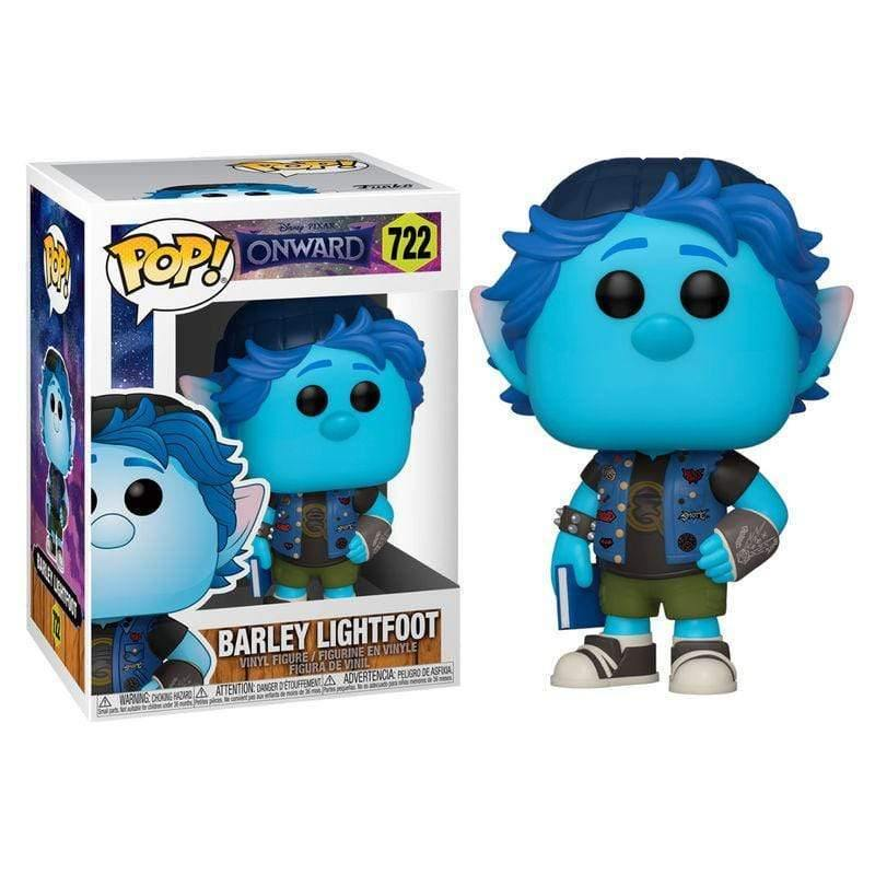 Infogeek DISNEY|ONWARD POP figure Disney Onward Barley