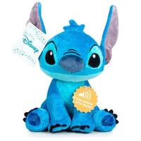 Disney Stitch soft plush toy with sound 20cm - InfoGeek