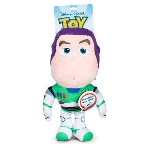Disney Pixar Toy Story 4 Buzz Lightyear plush toy 30cm with english sound - InfoGeek