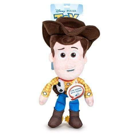 Disney Pixar Toy Story 4 Woody plush toy 30cm with english sound - InfoGeek