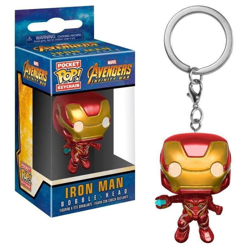 Pocket POP Keychain Marvel Avengers Infinity War Iron Man - InfoGeek