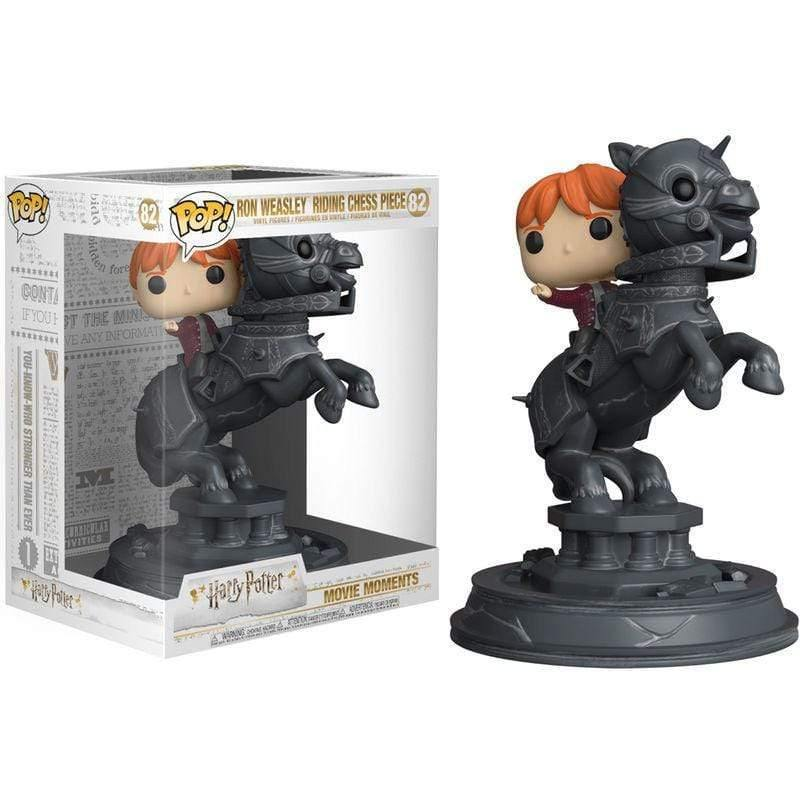 Infogeek FUNKO|POP! Movie Moments figure Harry Potter Ron riding chess piece