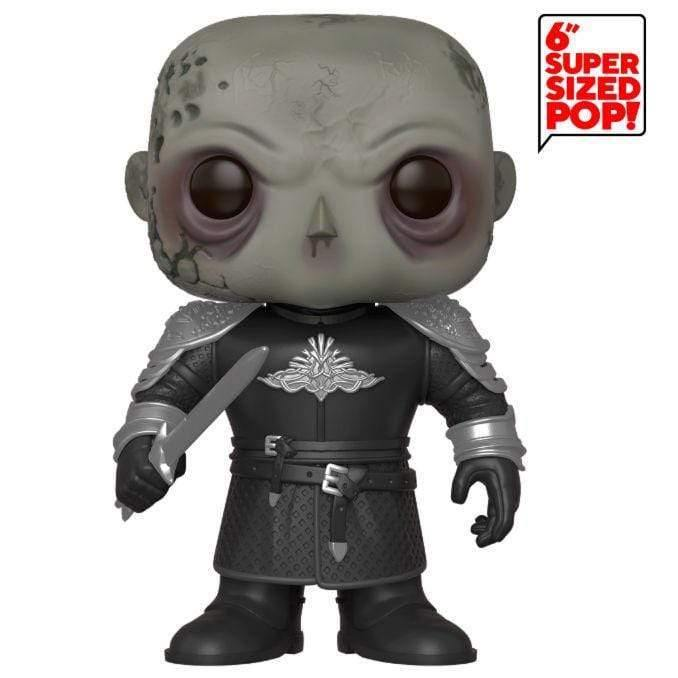 POP figure Game of Thrones The Mountain Unmasked 15cm - InfoGeek