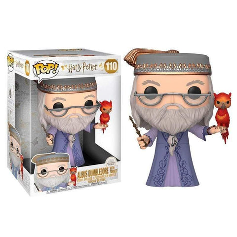 Infogeek FUNKO|POP! POP figure Harry Potter Dumbledore with Fawkes 25cm