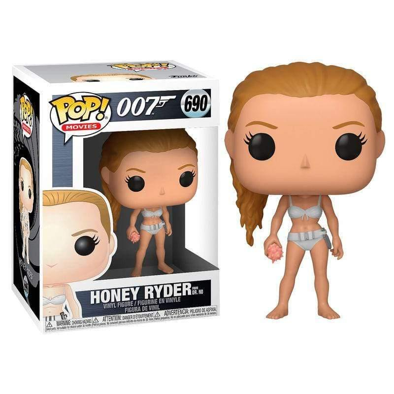 POP figure James Bond Honey Ryder serie 2 - InfoGeek