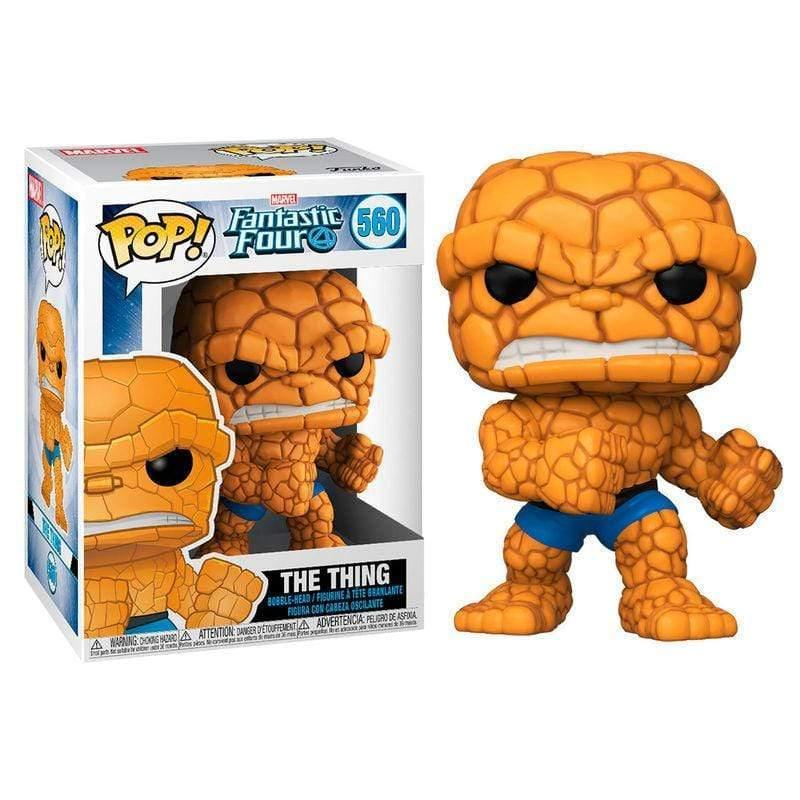 POP figure Marvel Fantastic Four The Thing - InfoGeek