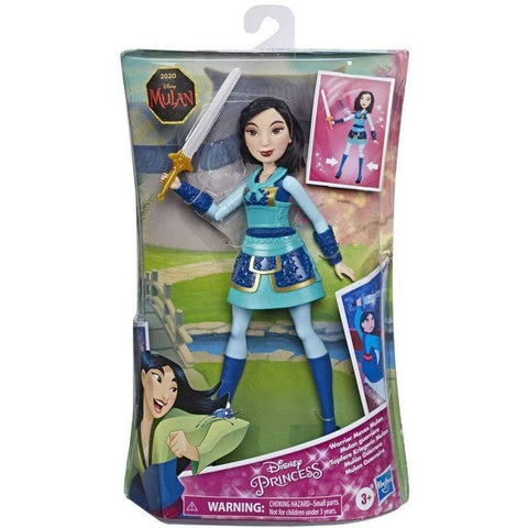 Infogeek GAMES & TOYS|HASBRO Disney Mulan Warrior Moves Mulan doll