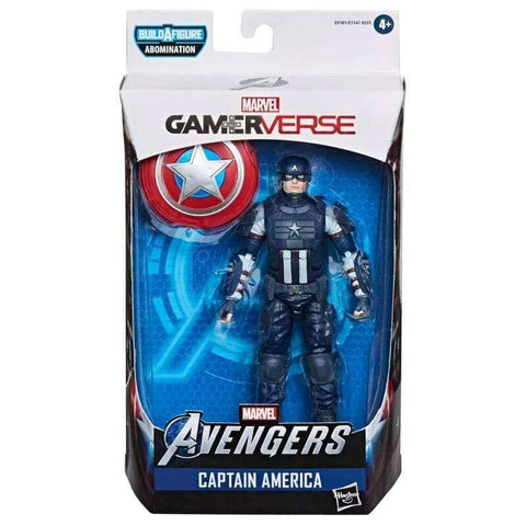 Infogeek GAMES & TOYS|HASBRO Marvel Avengers Captain America Gameverse Legends figure 15cm