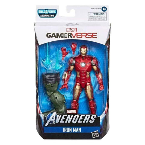 Infogeek GAMES & TOYS|HASBRO Marvel Avengers Iron Man Gameverse Legends figure 15cm