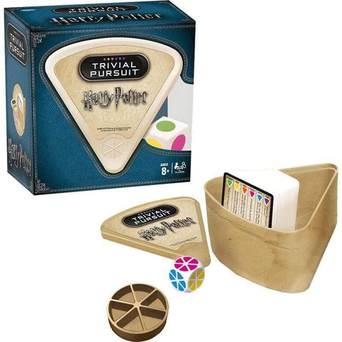 Infogeek GAMES & TOYS|HASBRO Trivial Pursuit Bite Harry Potter Spanish