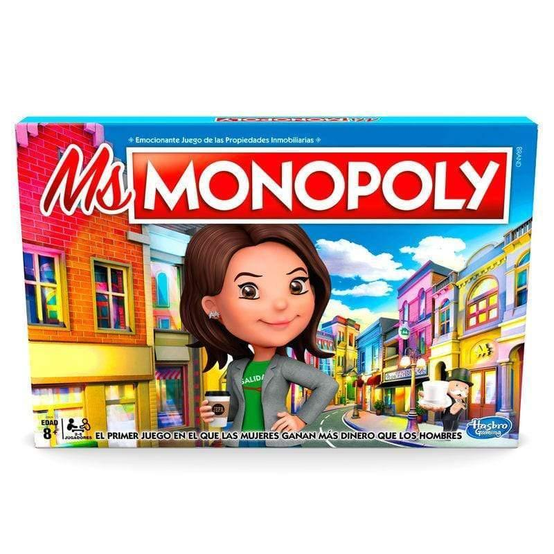 Infogeek GAMES & TOYS|MONOPOLY Ms. Monopoly Spanish game