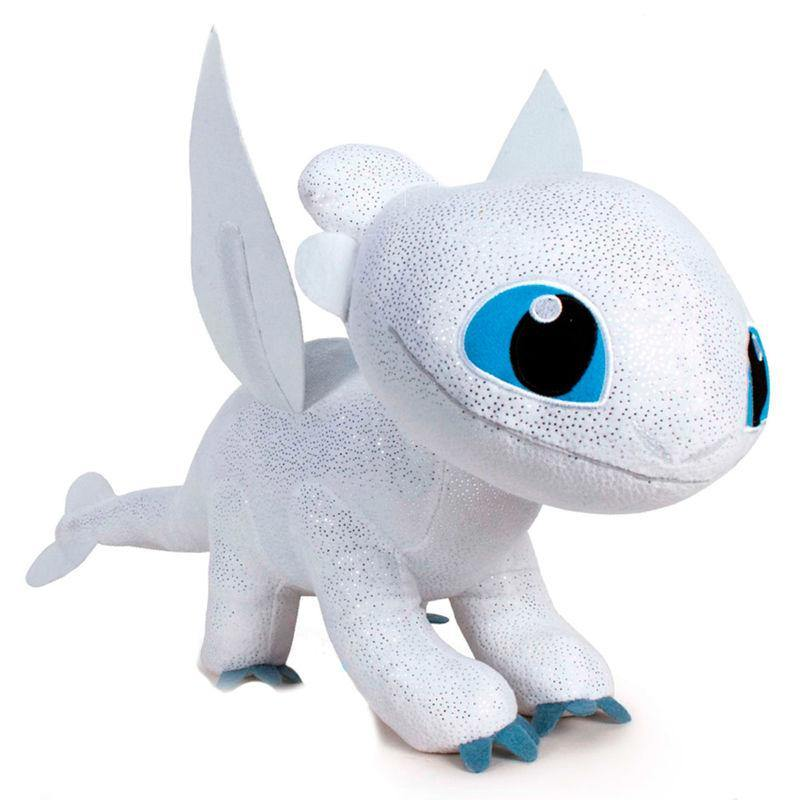 How To Train Your Dragon 3 Light Fury plush toy 60cm - InfoGeek
