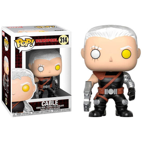 POP figure arvel Deadpool Cable