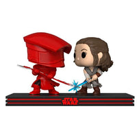 POP pack 2 figures Star Wars Rey & Praetorian Guard - InfoGeek