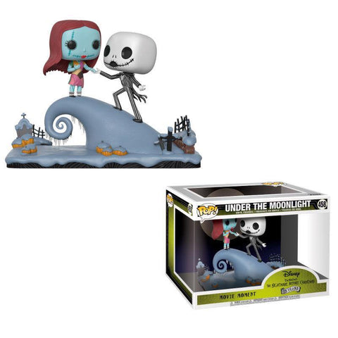 POP figures Disney Nightmare Before Christmas Jack and Sally on the Hill