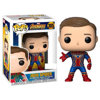 POP figure Marvel Avengers Infinity War Iron Spider Exclusive