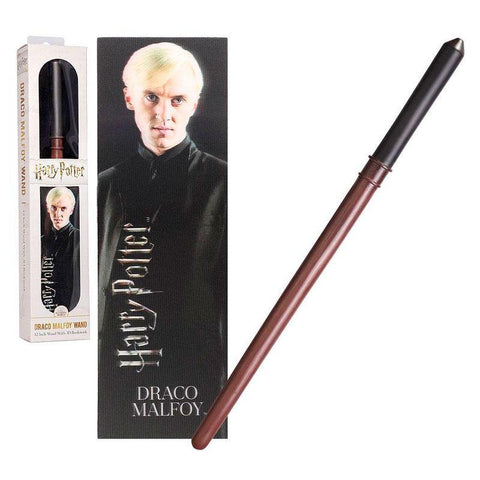 Harry Potter Draco Malfoy wand with bookmark