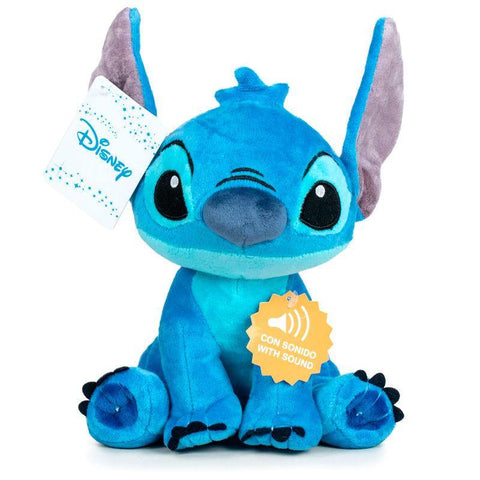 Disney Stitch soft plush toy with sound 20cm