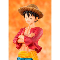 One Piece Monkey D.Luffy Straw Hat 14cm - InfoGeek