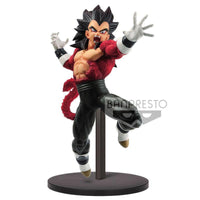 Super Dragon Ball Heroes 9th Anniversary Super Saiyan 4 Vegeta Xeno figure 17cm