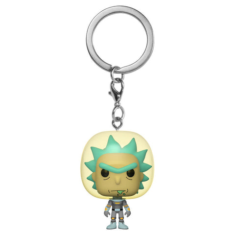 Pocket POP keychain Rick & Morty Rick with Space Suit