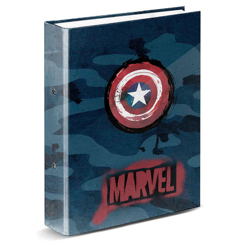 Marvel Captain America A4 folder 4 rings