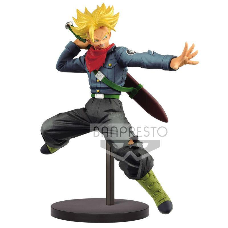 Dragon Ball Super Chosenshi Retsuden II Super Saiyan Trunks Future 17cm