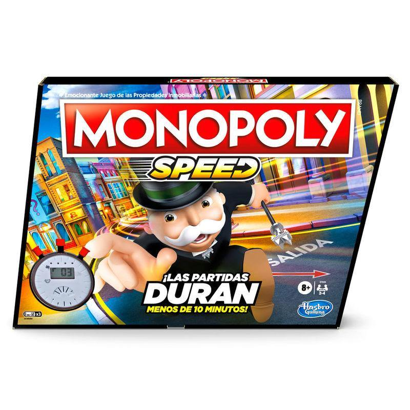 Speed Monopoly Spanish game