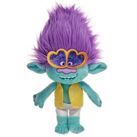 Trolls World Tour Branch Glasses plush toy 17cm - InfoGeek
