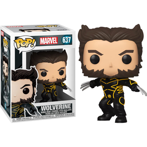 POP figure Marvel X-Men 20th Wolverine In Jacket
