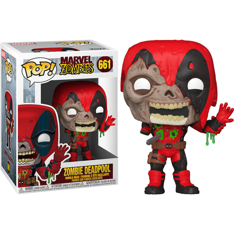 POP figure Marvel Zombies Deadpool