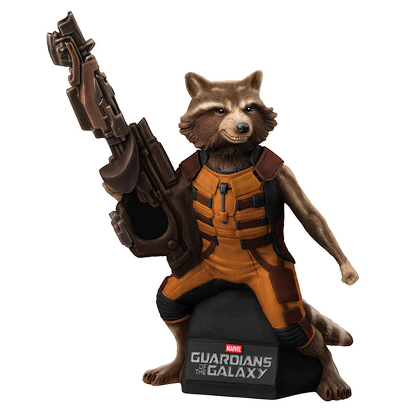 Marvel Guardians of the Galaxy Rocket Raccoon Bust Bank figure