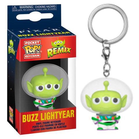 Pocket POP keychain Disney Pixar Alien Remix Buzz