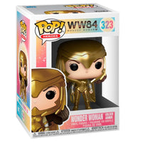 POP figure DC Wonder Woman 1984 Wonder Woman Gold Power Pose - InfoGeek