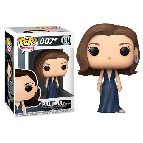 POP figure James Bond Paloma No Time to Die