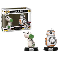 POP pack 2 figures Star Wars Rise of Skywalker D-O and BB-8 Exclusive